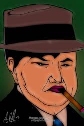 Fat Tony Salerno Art Work
