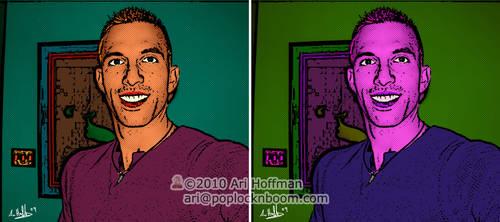 Ari 'Pop Art'..... Art Work