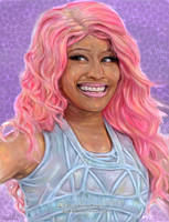 Nicki Minaj.... Art Work by arihoff
