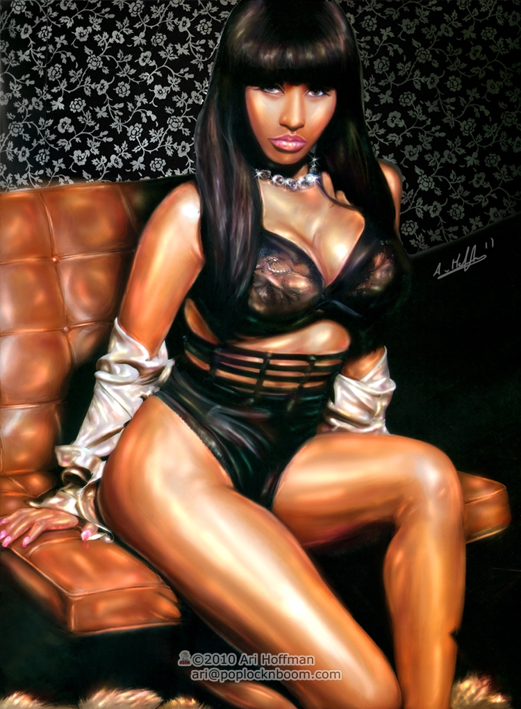 Nicki Minaj.... Art Work by arihoff