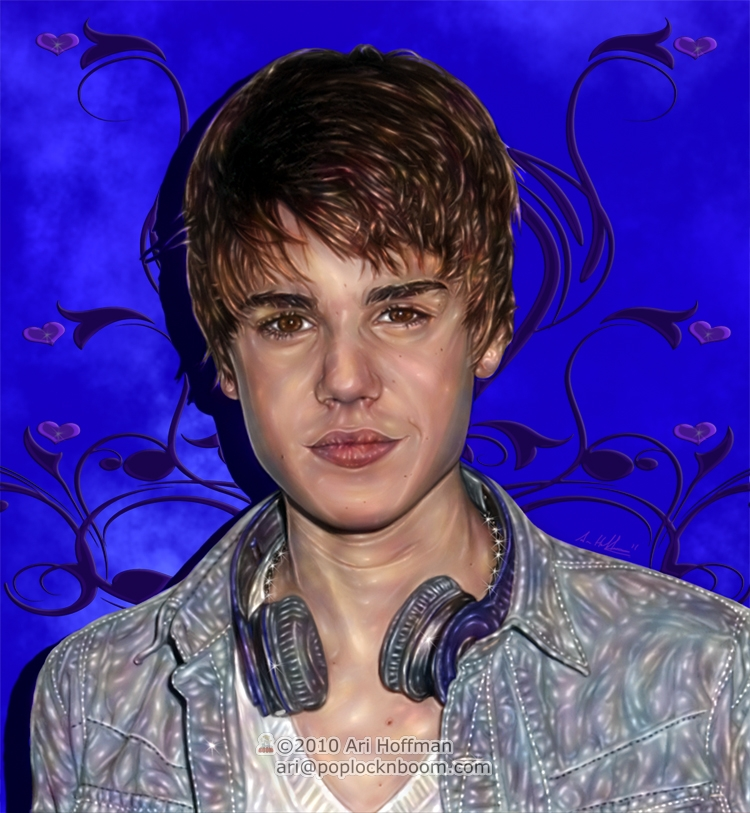 Justin Bieber... Art Work by arihoff
