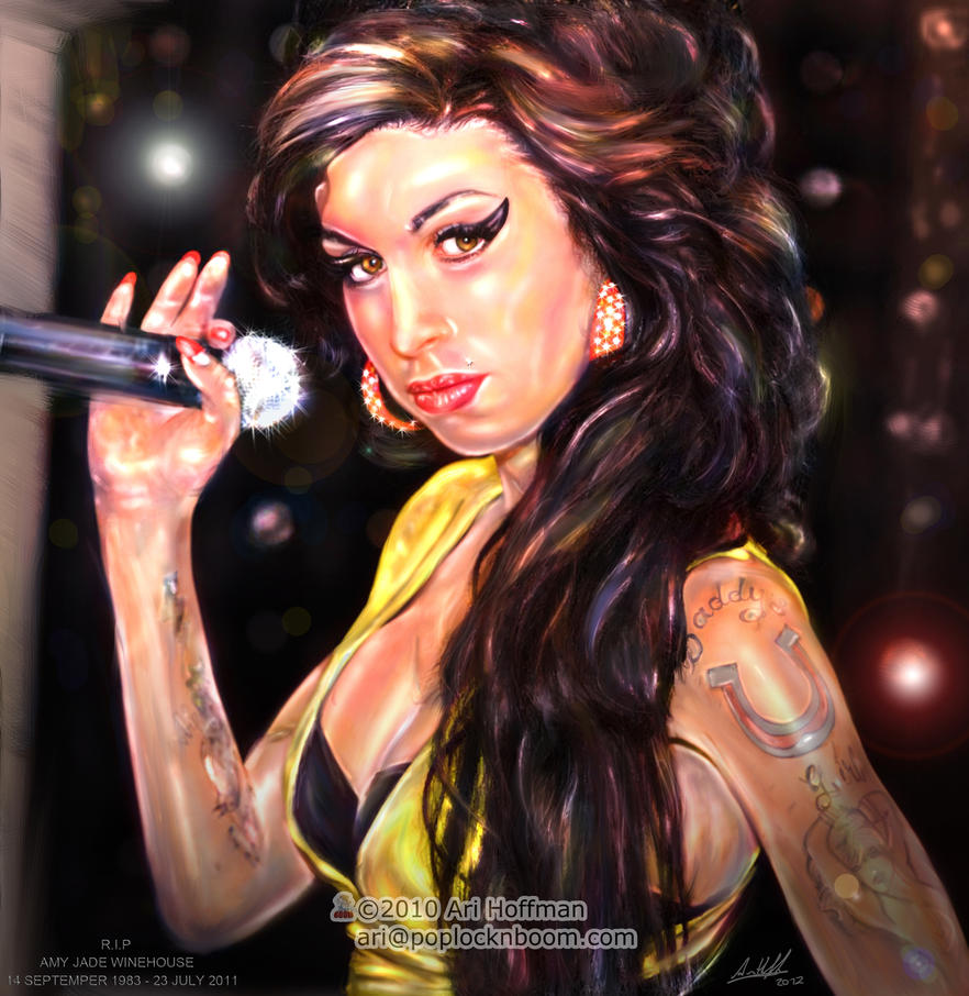 Amy Winehouse.... Art Work by arihoff