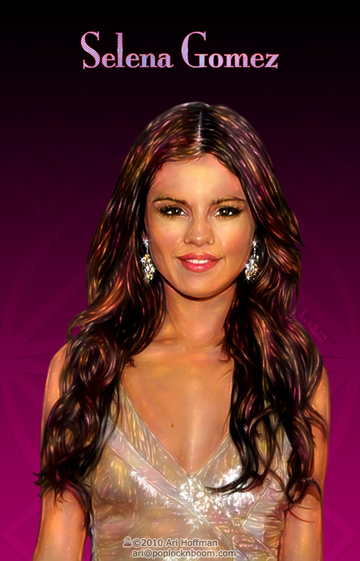 Selena Gomez.. by arihoff
