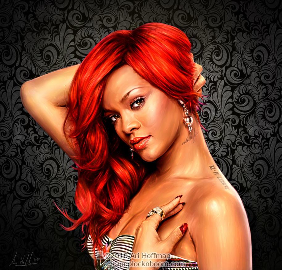 Rihanna by arihoff