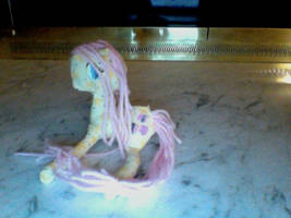 Fluttershy Plushie by TeslaSong