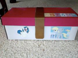 Pony Pencil box by TeslaSong