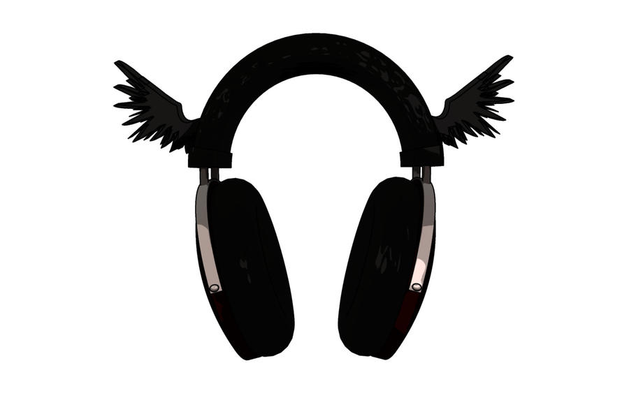Headphones Logo by LicensedHobo on DeviantArt