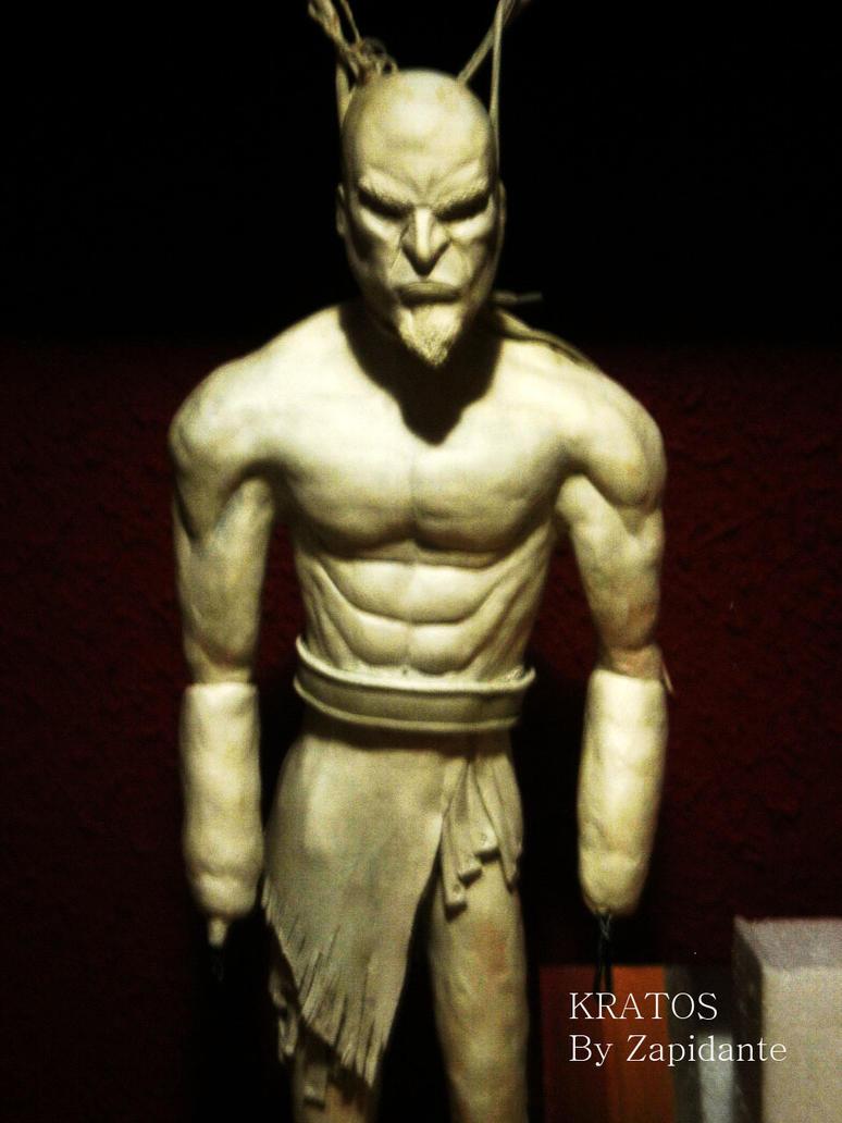 Kratos statue fase 2 by zapidante