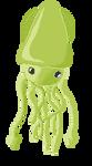 Tri the Squid by Oscihedgehog