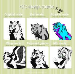 Oc Design Meme by keweel109