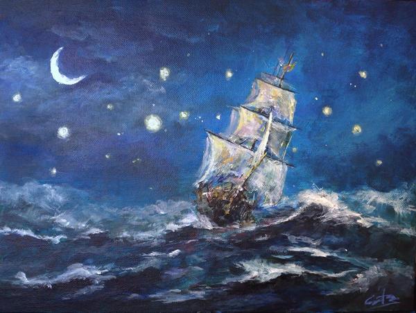 Sailor's Dream by jingyuzhang