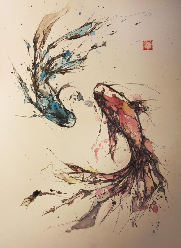Yin yang pisces by jingyuzhang on deviantart yin yang pisces by jingyuzhang sciox Gallery