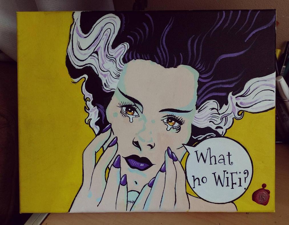 Every bride needs her WiFi! by RRocha722