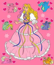 Princess Aurora As Lady Lovelylocks