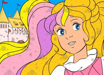 The Beautiful Princess- Lady LovelyLocks