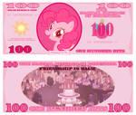 Pinkie Pie 100 Bits Bill