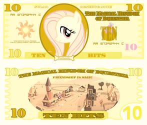 Fluttershy 10 bits bill