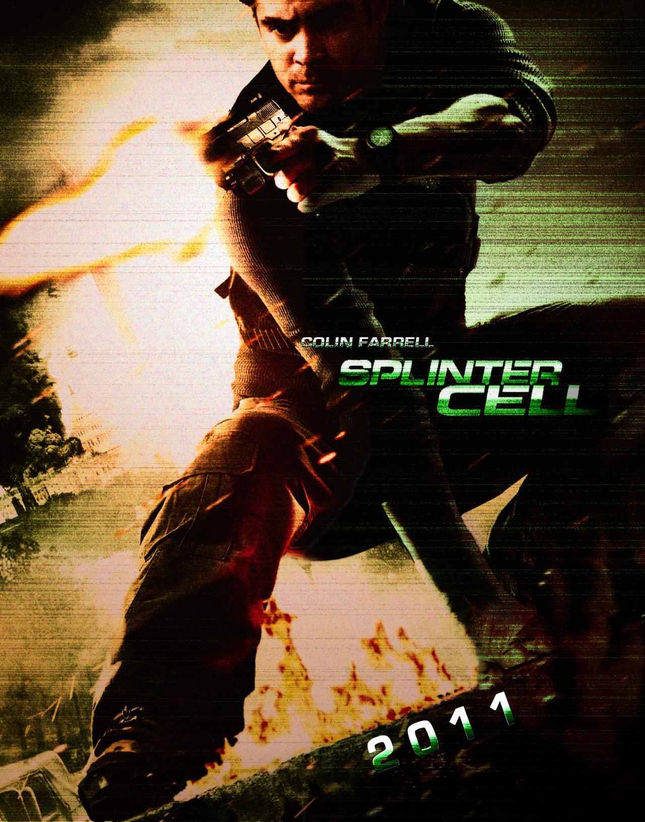 Splinter Cell - Movie Poster by Alex-Bond on DeviantArt