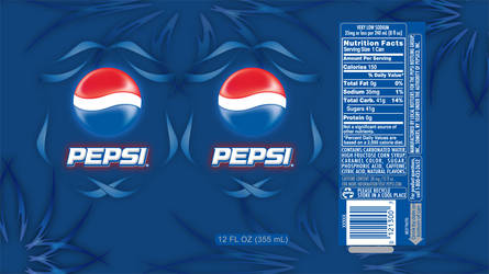 Pepsi Package Design by metalwingdesigns