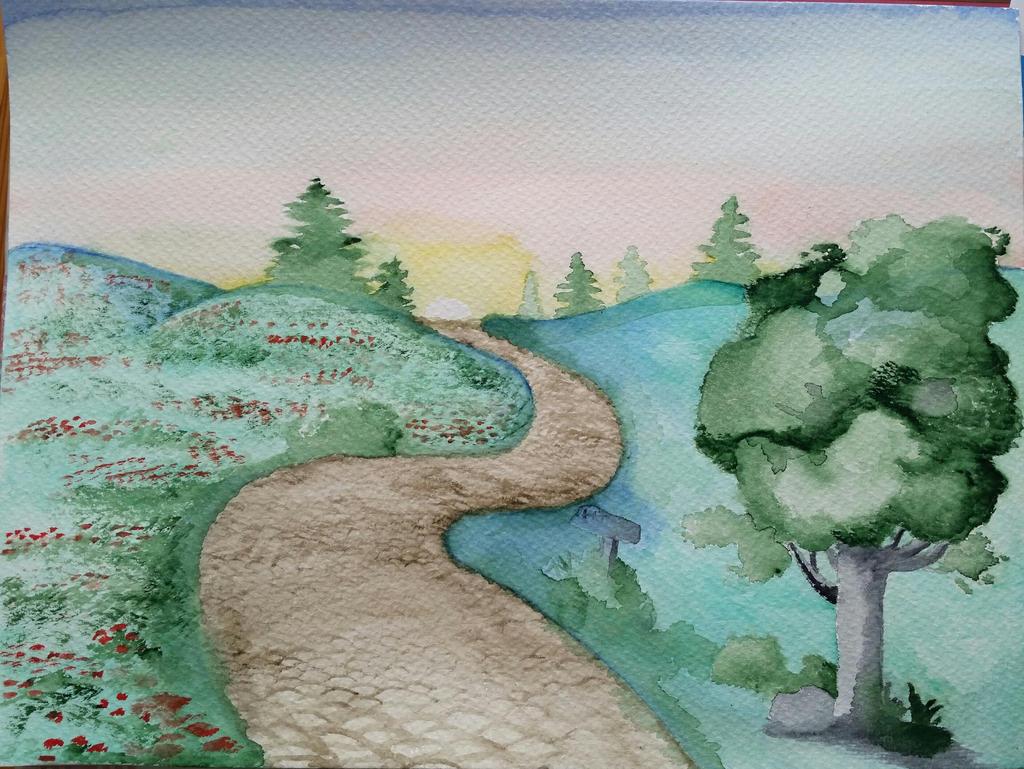Landscape training by CapellArt