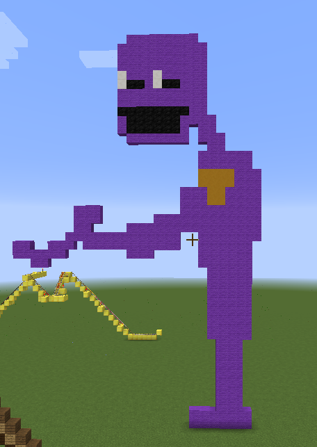Purple guy by poofiedogg on deviantart