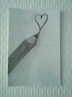 heart pencil by schappacher