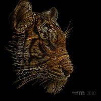 card tiger by AiK-art