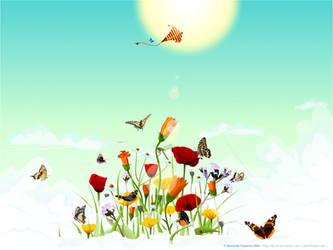 Heaven flowers. by AiK-art