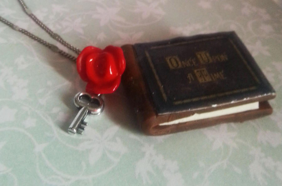 Once Upon A Time Writing Fairy Tale Once upon a time Fimo book