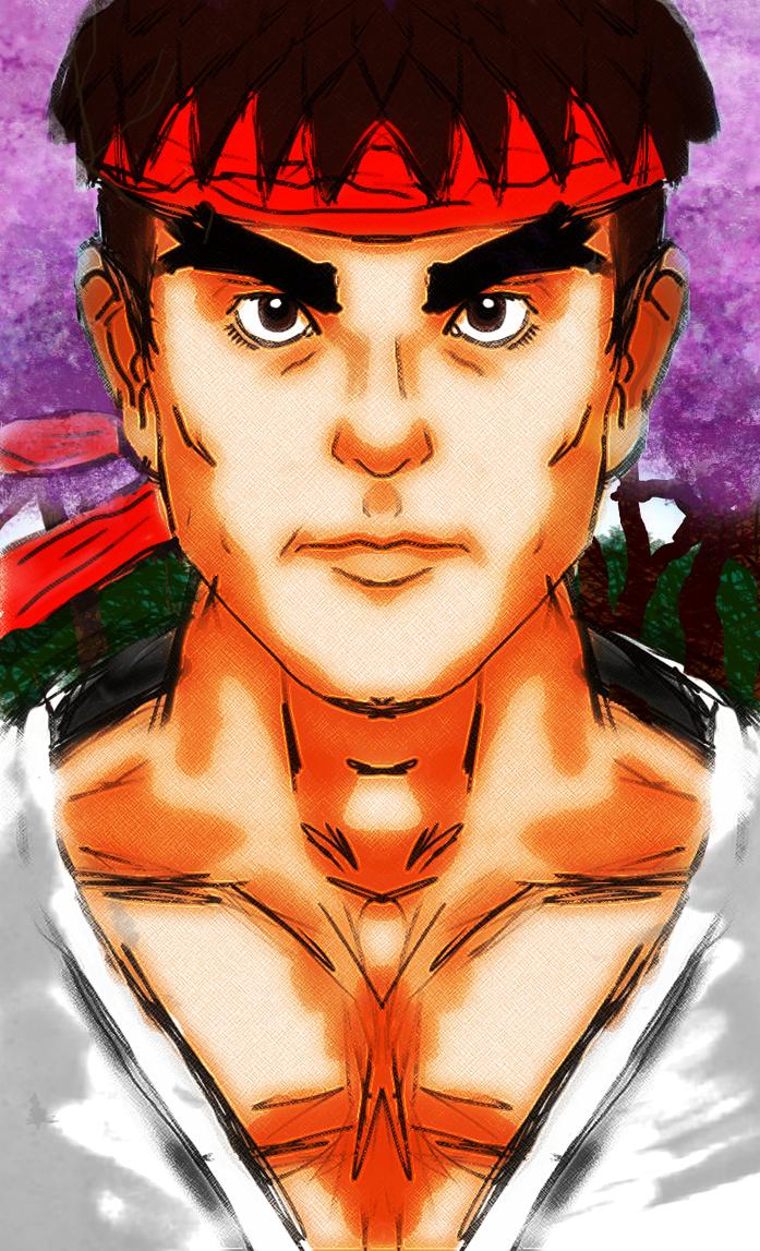 Ryu Speed Portrait by Kiwii3364