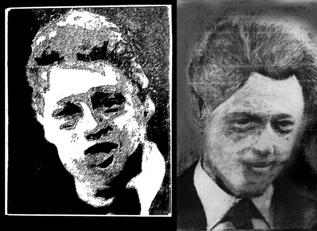 Bill Clinton Charcoal (Touched Up) by Kiwii3364