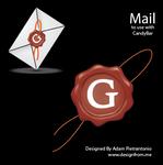Wax Press Mail Icon