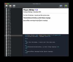 Thorn Writer (Language Pad Re-Write) Progress