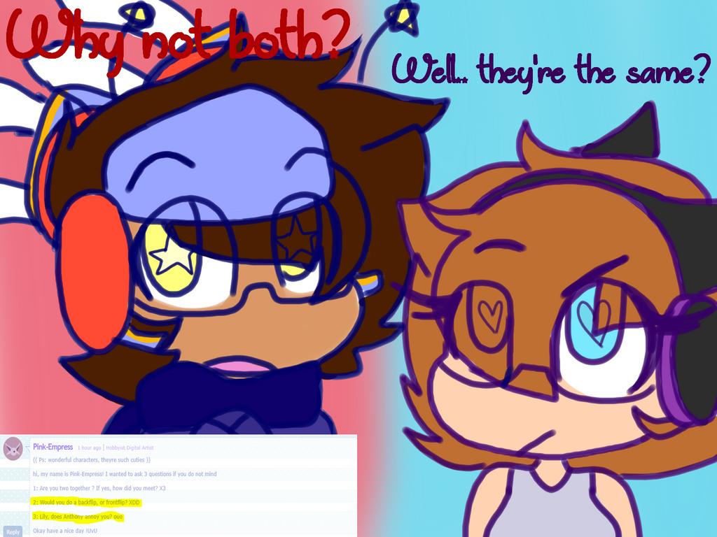 ~Ask Anthony and Lily #2~ by XxSquidInkXx