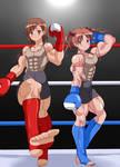 Railgun Kickboxing Remake
