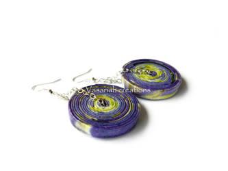 Paper earrings by OmbryB