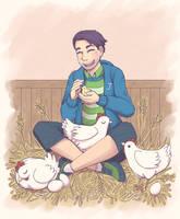 Chicken by Maricu-Mana