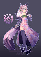 Floral Fox Auction [Closed] by Maricu-Mana