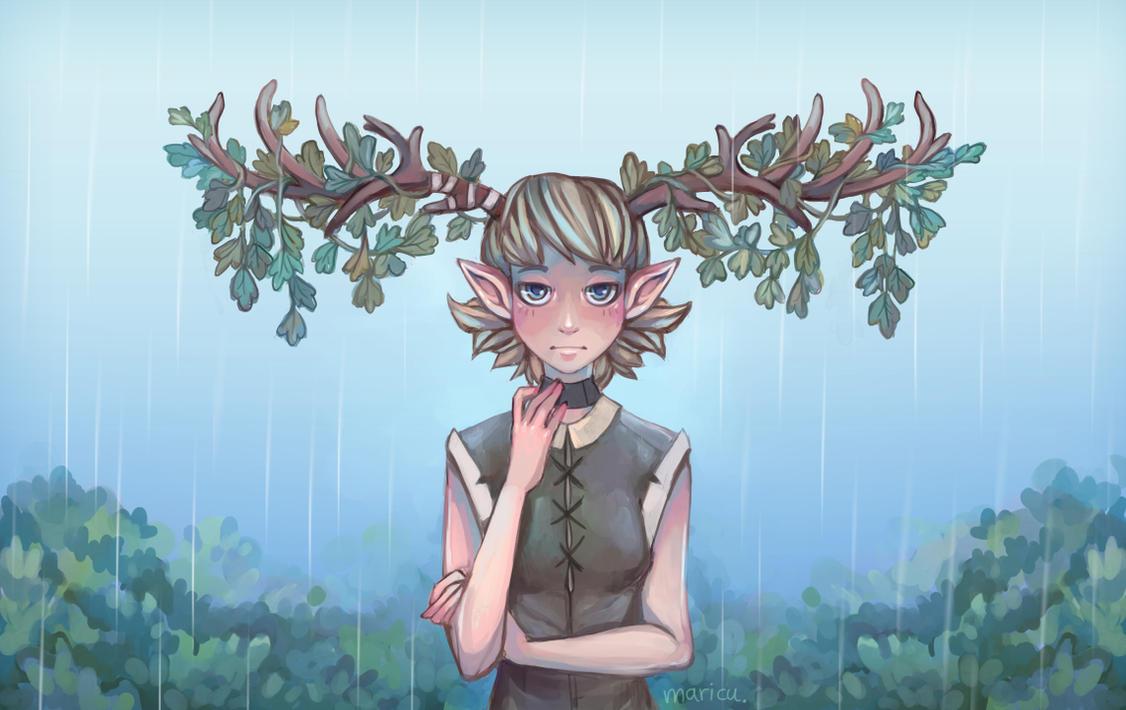 Rain by Maricu-Mana