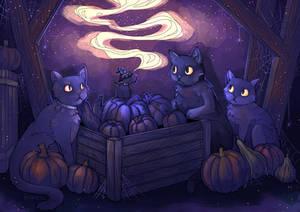 Halloween Night by Maricu-Mana