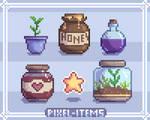 Pixel Item Set (Practice Work)