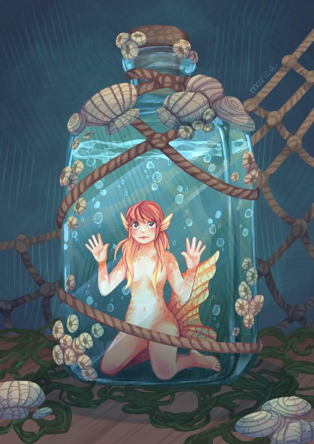 Sea Fairy by Maricu-Mana