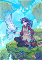 Crystal Gatherer by Maricu-Mana