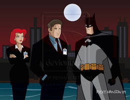 Mulder and Scully meets Batman