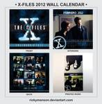 X-Files 2012 Wall Calendar