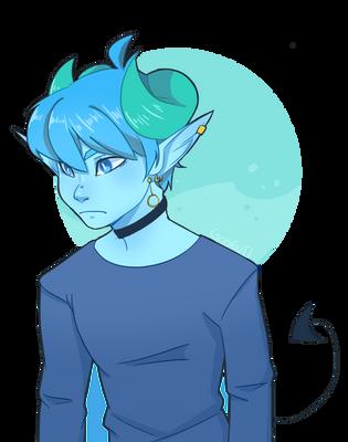 BLUE BOY by Tronarvinge