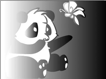 Chibi Panda By Tye Flame00 Wallpaper
