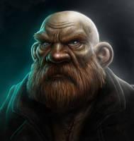 Dwarf Portrait by OwenRixon
