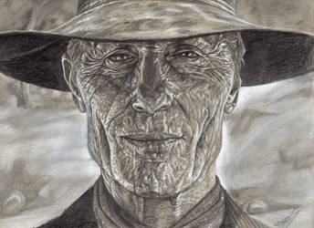 Ed Harris - Westworld. by OwenRixon