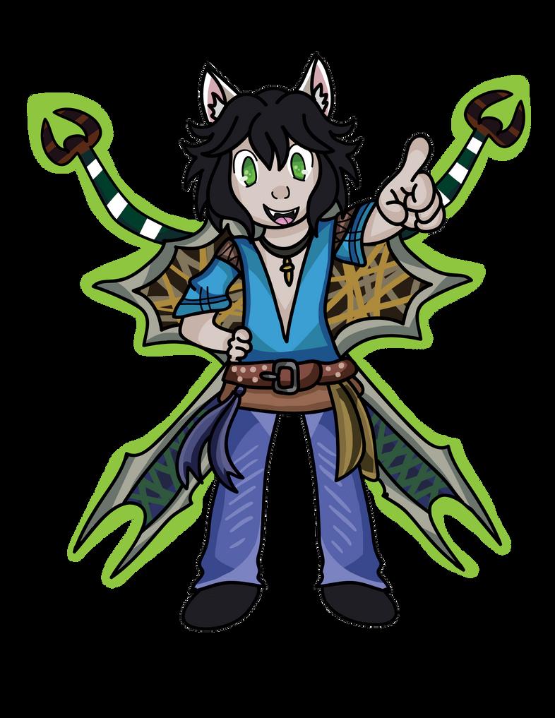 Friend's PWI Character 2 by DemoniumAngel